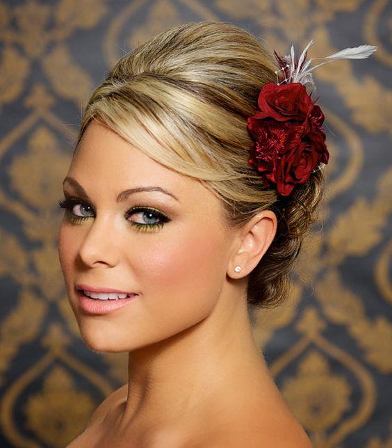 Bridal Hair Clips Bridal Hair And Hair Clips On Pinterest