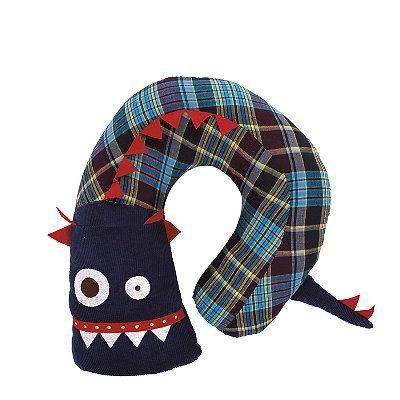 U-Shaped Monster Pillow