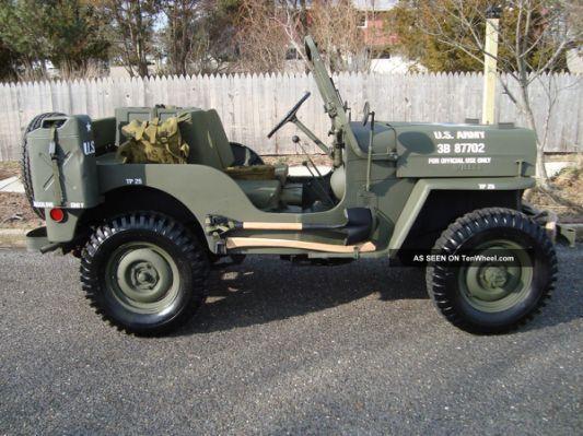 Willys 1963 Cj3b Army M606 Style Willys Willys Jeep Army Truck