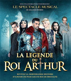 LA LEGENDE DU ROI ARTHUR 15,16, 17 avril 2016
