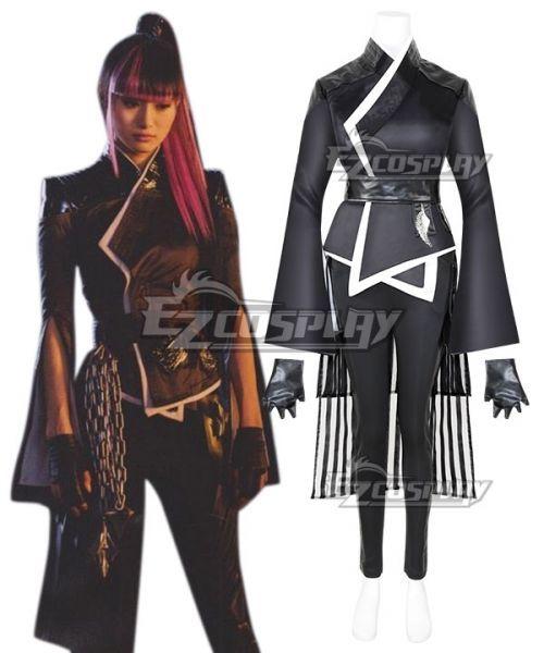 Marvel Deadpool 2 Yukio Cosplay Costume Marvel Girls Deadpool Costume Cosplay Costumes