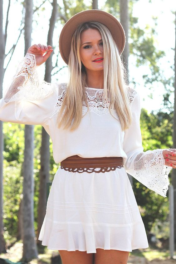 look do dia mari dalla blog vestido branco boho e chapeu 6: