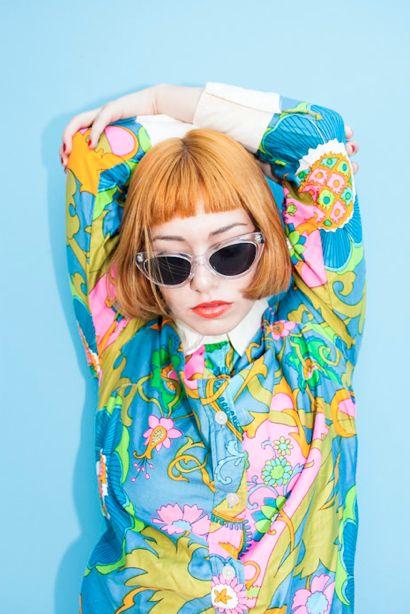 Orange hair #model #fashion #photography #photoshoot #highfashion #magazine #blvck #portrait