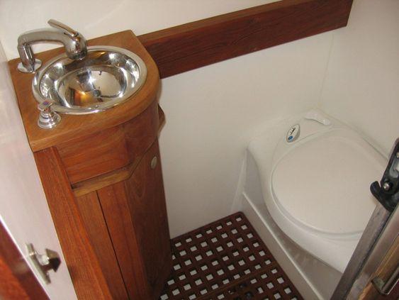 Expedition RV Bath_Sink_Toilet | Sprinter Convert Ideas ...