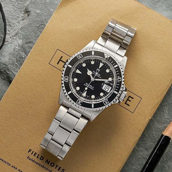 New watches are up, including this awesome Tudor Sub. Be sure to check them out @hodinkeeshop !