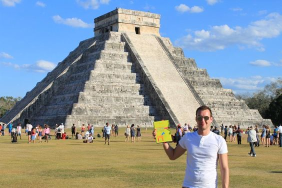 auch die alten Mayas hielten bereits Handelsbeziehungen zur Troja :-)