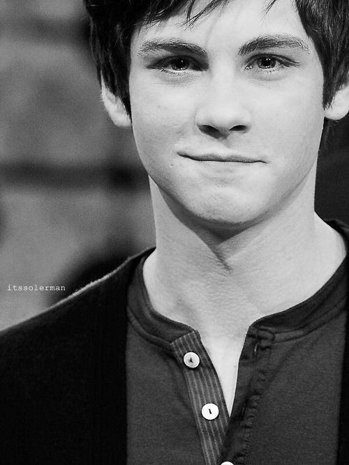 Logan Lerman. He was the perfect Percy Jackson and the only good thing about that movie.