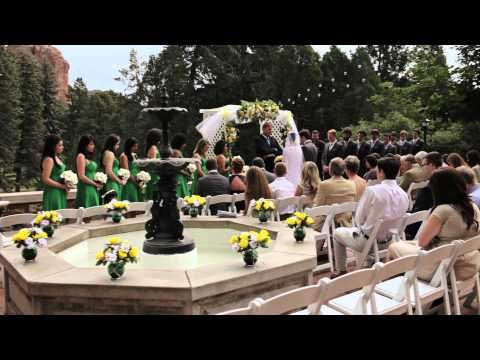 Mitt & Sam Highlight Wedding Film Glen Eyrie Castle Colorado Springs Colorado - YouTube
