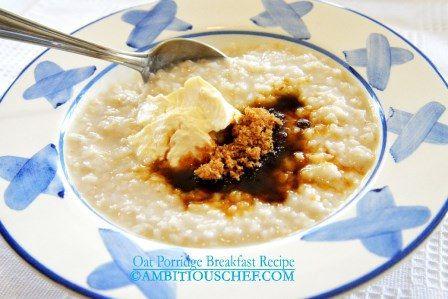 Oat Porridge Breakfast Recipe