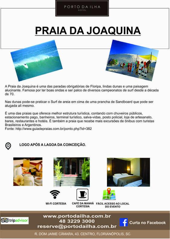 Que tal aproveitar o final de semana?? www.portodailha.com.br 48 3229 3000