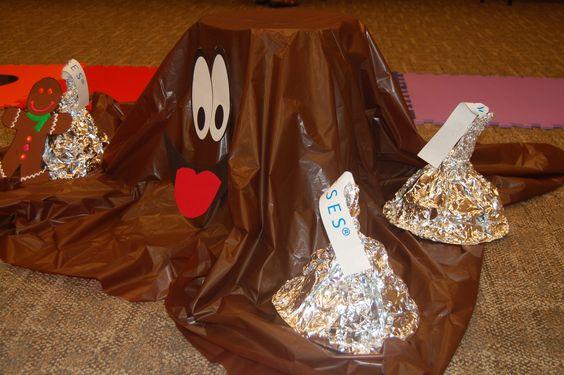 Life Size Candy Land.  Candyland.  Gloppy.  Hershey Kisses.