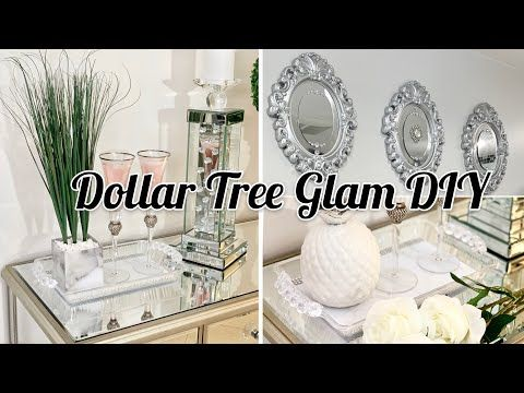 Diy Dollar Tree Glam Coffee Table Decor Ideas Youtube Glam Coffee Table Decor Decorating Coffee Tables Glam Coffee Table