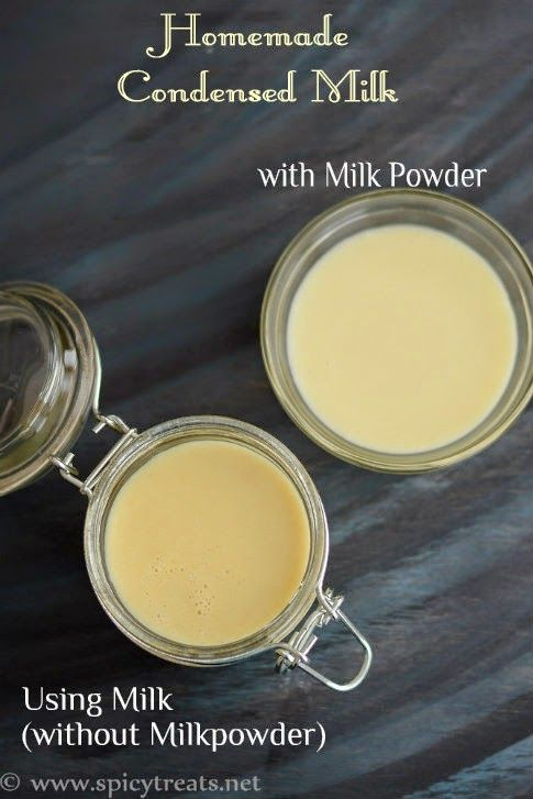 How To Make Condensed Milk In 2020 Homemade Condensed Milk Condensed Milk Condensed Milk Recipes
