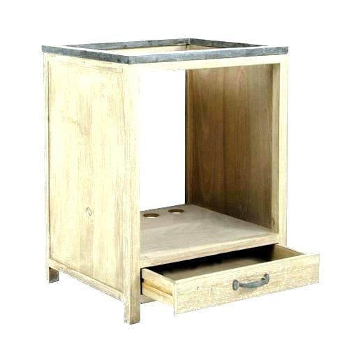 meuble pour four encastrable et plaque