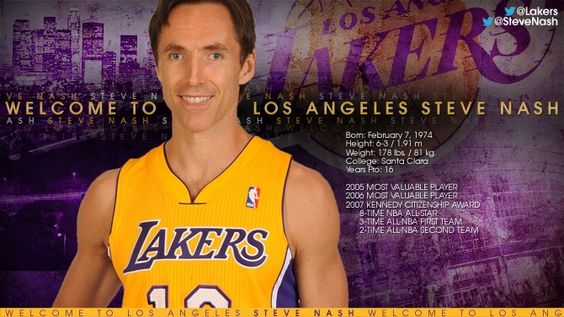 YES! Love Steve Nash, man deserves a championship ring. photo courtesy of the THE OFFICIAL SITE OF THE LOS ANGELES LAKERS