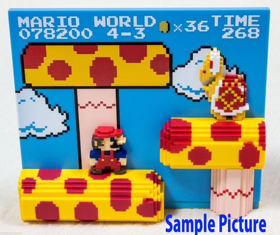 Super Mario Bros. Stage Figure 4-3 Nintendo Dotgraphics Banpresto JAPAN NES