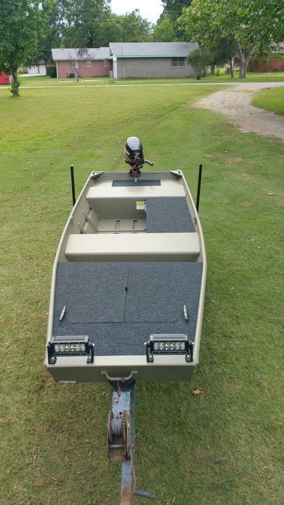 New 2016 tracker 14 jon boat