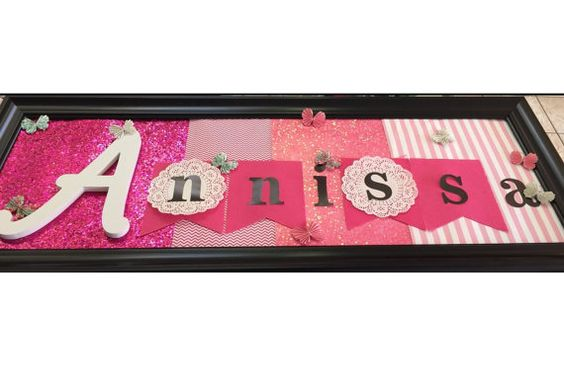 Custom Name Sign for Kids by SweetSignsbyB on Etsy