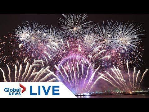 New Year S Eve 2020 Countdown Celebrations Around The World Live Youtube Celebration Around The World New Year S Eve 2020 New Years Eve