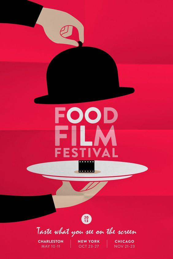 Food Film Festival Poster  http://www.grapheine.com/affiches/food-film-festival