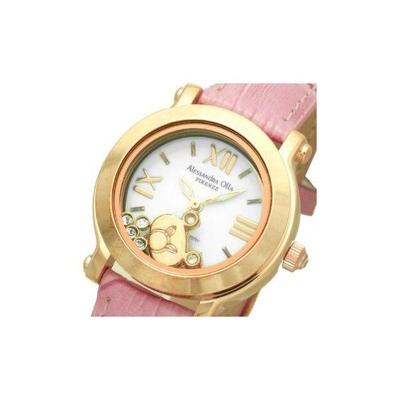 Alessandra Olla アレサンドラオーラ 腕時計 レディースウォッチ Bear AO-3100KU RPK ローズピンク