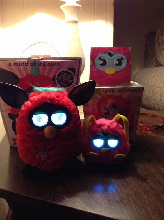 My furby collection so cute together