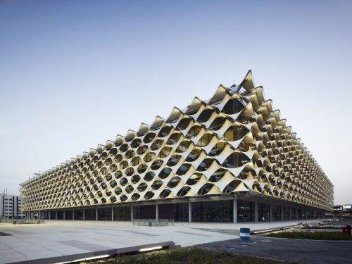 King Fahd National Library Riyadh | Gerber Architekten - Arch2O.com