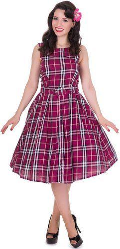 Dolly and Dotty™ 'Annie' 50er Jahre Vintage Swing Kleid: Amazon.de: Bekleidung