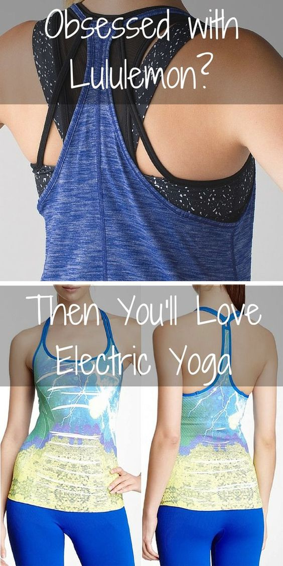 Shop hot new workout styles from Electric Yoga starting at $10.99! Find yoga pants, workout tanks, and much much more at a fraction of the price. Click the image to download the FREE app now and discover your exclusive savings!