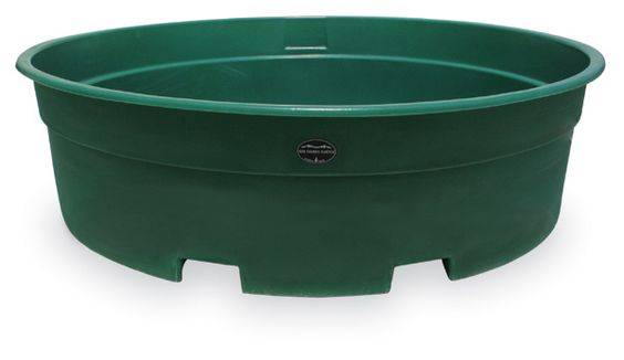 High country plastics 700 gallon water tank livestock for Stock tanks for fish