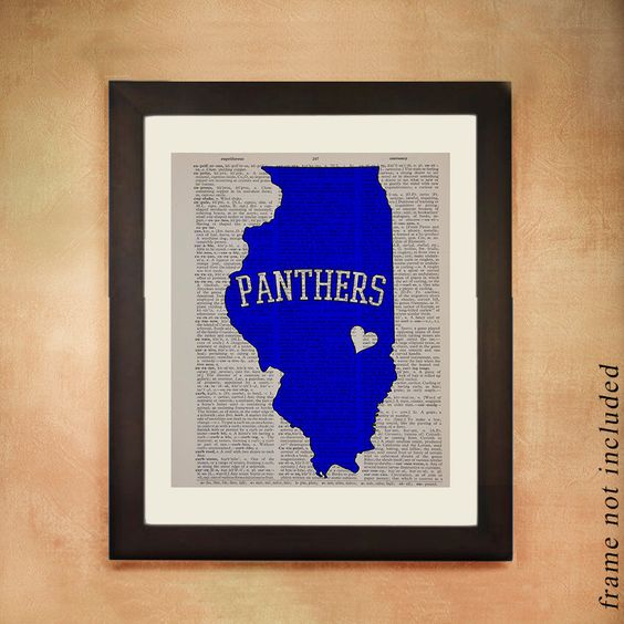 Eastern Illinois Panthers Dictionary Art Print, Charleston Il EIU University Vintage Paper Blue Gray College Wall Art Dorm Decor da99 by Lexiconograph on Etsy https://www.etsy.com/listing/184615058/eastern-illinois-panthers-dictionary-art