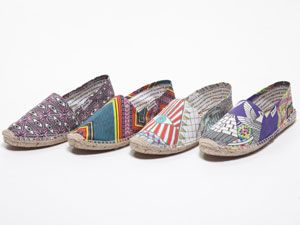 Soludos x Mara Hoffman = cool, new kicks for summer. Are you feeling them?