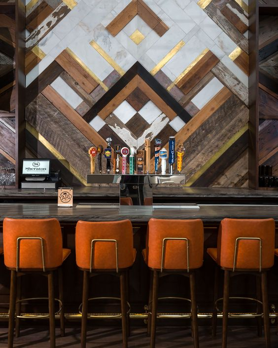 Hotel bar decor sheraton austin at the capitol studio - Interior bar design ideas ...
