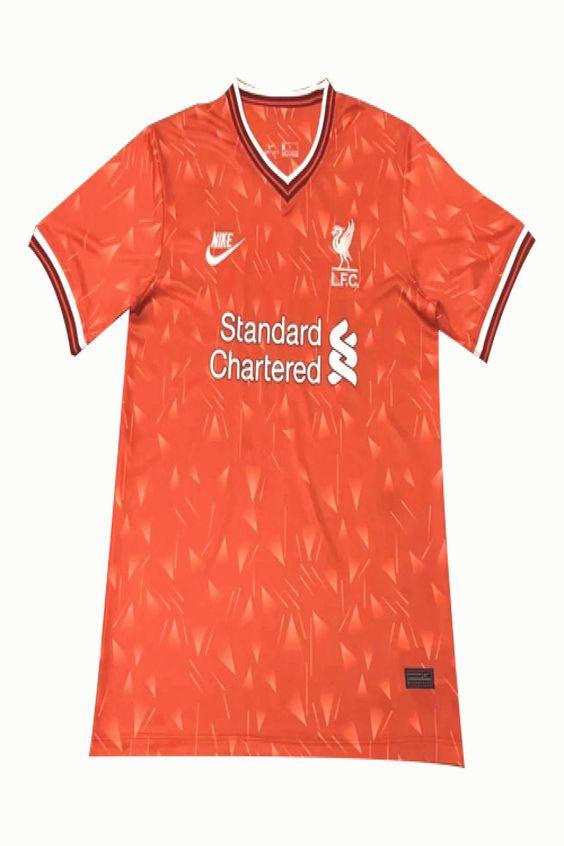 2021 Liverpool Red Training Shirt Cheap Soccer Jerseys Shop Minejerseyscn In 2020 Soccer Jersey Training Shirts White Jersey Shirt