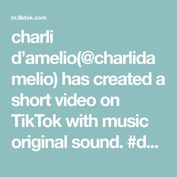 Charli D Amelio Charlidamelio Has Created A Short Video On Tiktok With Music Original Sound Duet With Charlidamelio Tight Jeans Music Music Rules Video