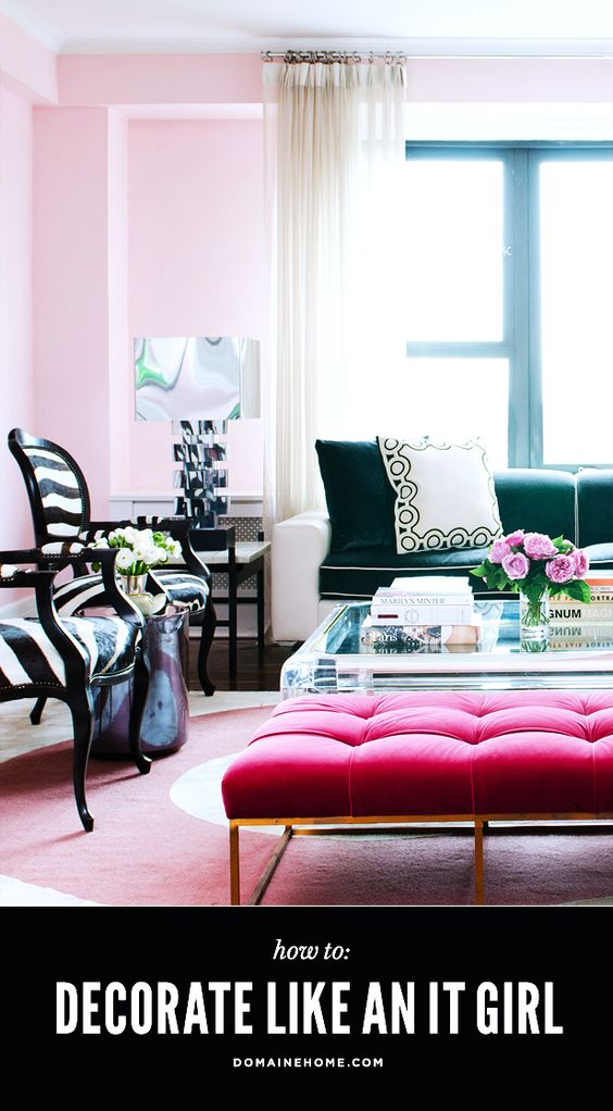 """What you need to give your home an """"It Girl"""" look"""