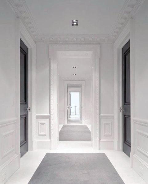 Top 50 Best Interior Door Trim Ideas Casing And Molding Designs Interior Door Trim Grey Doors Home