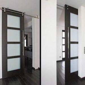 Exterior Sliding Door Hardware Sliding Barn Door Track System Barn Door Sliding Doors Interior Interior Sliding Barn Doors Doors Interior Modern