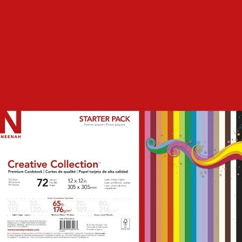 Neenah Creative Collection Specialty Cardstock Starter Kit 12
