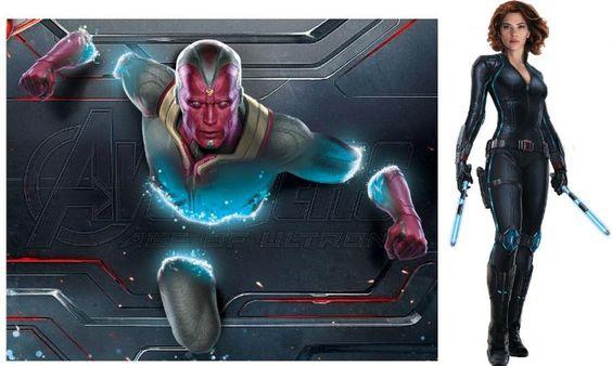 Age of Ultron, Avengers, Marvel, ultron, vision, hulkbuster