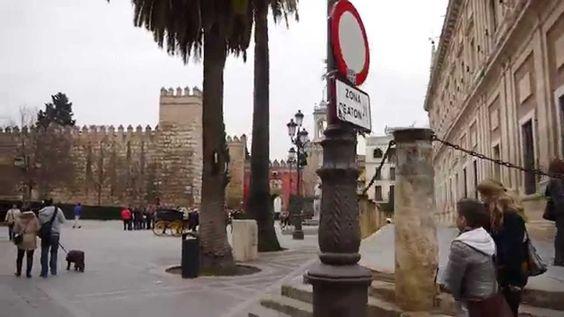 Estamos en Sevilla, a punto de comenzar nuestro viaje a Huelva de una semana invitados para conocer la provincia del jamón y las gambas de la mano de #desc