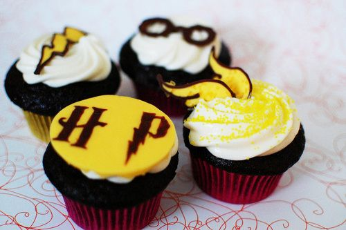 potter cupcakes