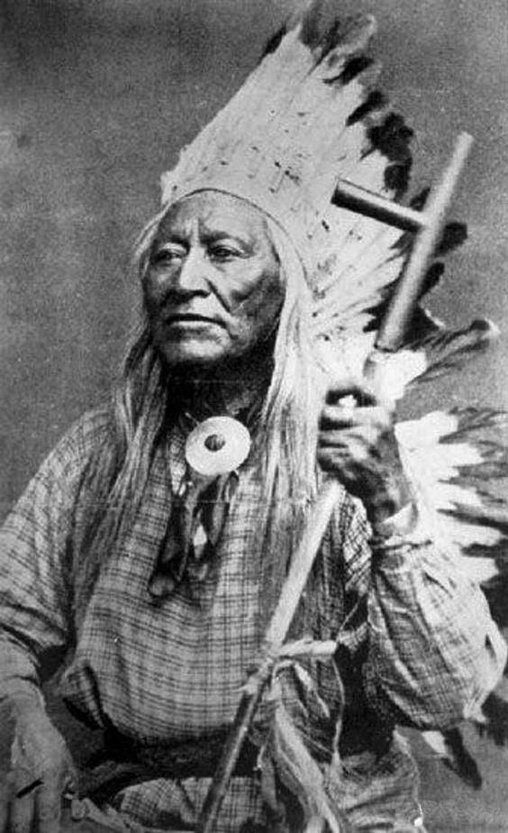 Washakie, legendary chief of the Eastern Shoshones.