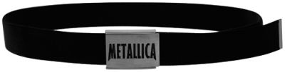 #Ceinture Tissu METALLICA - Lettrage #metallica www.rockagogo.com