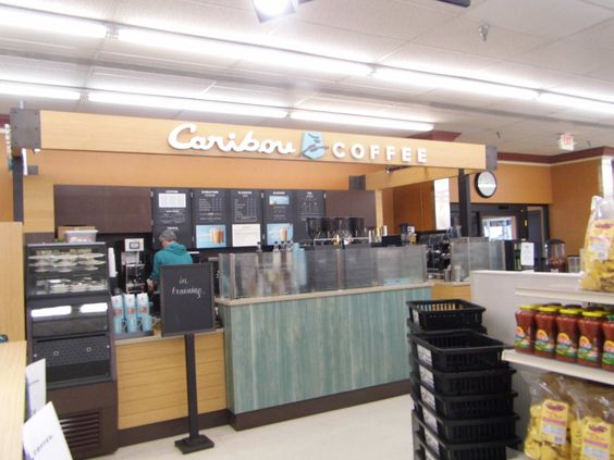 Check out the Caribou Coffee shop we just finished building in Menomonie!