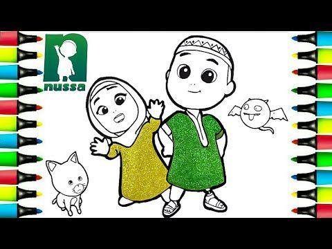 Nussa Dan Rara 3 Kartun Islami Viral Menggambar Dan Mewarnai