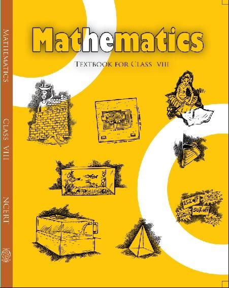 Ncert Cbse Class 8 Mathematics Book Mathematics English Textbook
