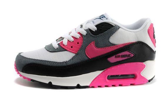 Nike Air Max 1 Blanche Et Grise Femme