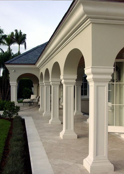 Columns And Pilasters Cga Stone Classic House Design Facade House House Outside Design