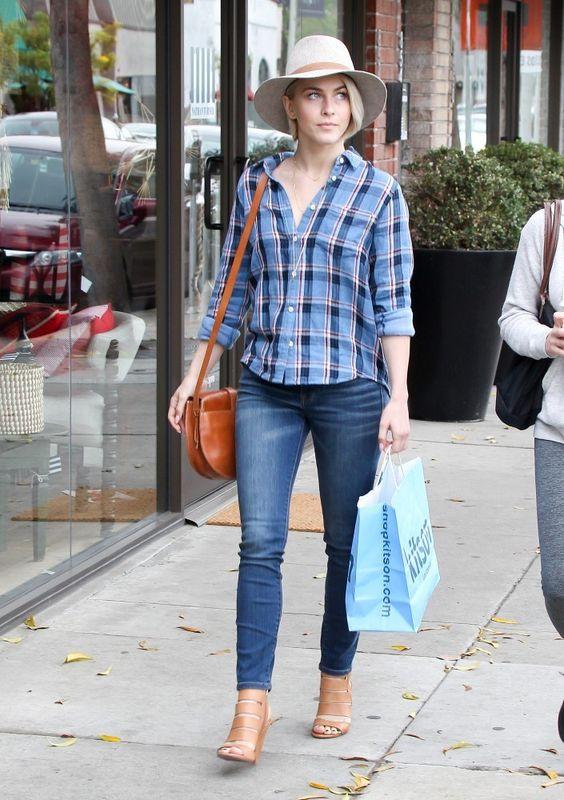 Vote! Which Celebrity Had the Best Weekend Street Style? // Julianne Hough